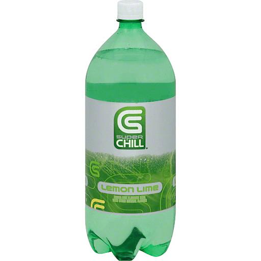 Super Chill Soda, Lemon Lime