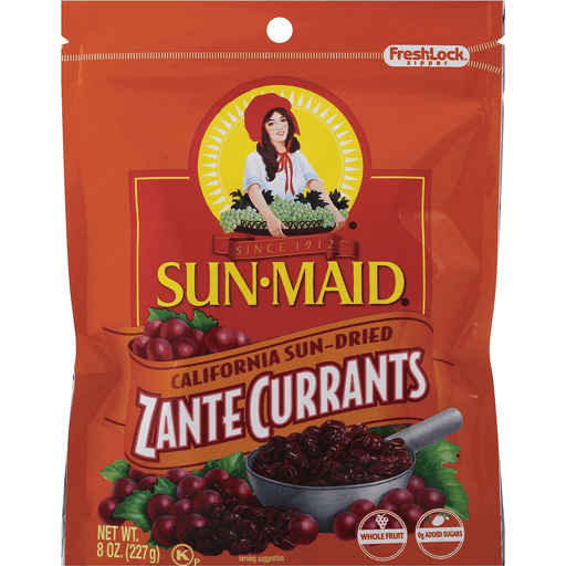 Sun-Maid® Zante Currants 8 oz. Bag | Dried Fruit | Carlie C's