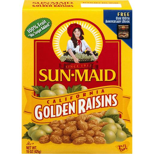 Sun Maid Raisins, California Golden