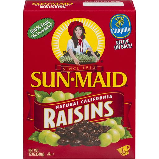 Sun Maid Raisins, Natural California