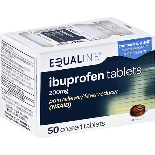 Equaline Ibuprofen, 200 mg, Coated Tablets