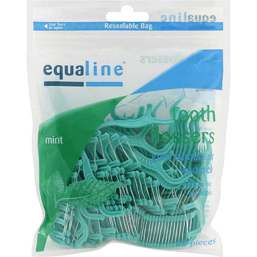 Equaline Tooth Flossers, Mint