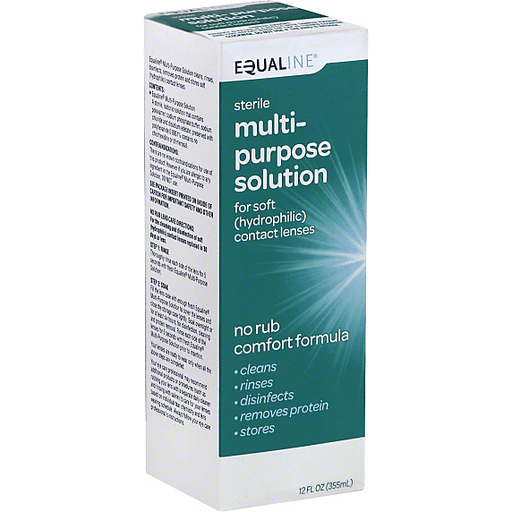 Equaline Multi-Purpose Solution, for Soft Contact Lenses