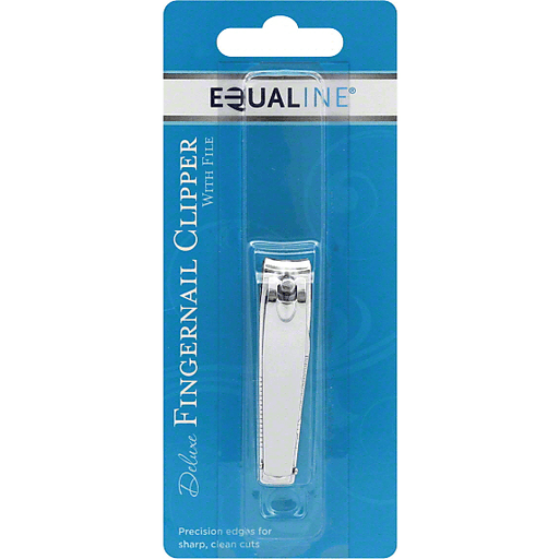 Equaline Fingernail Clipper, Deluxe, with File