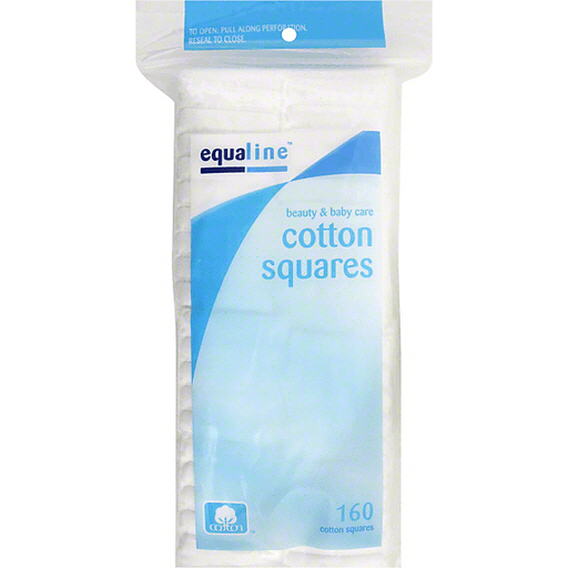 Equaline Cotton Squares, Premium