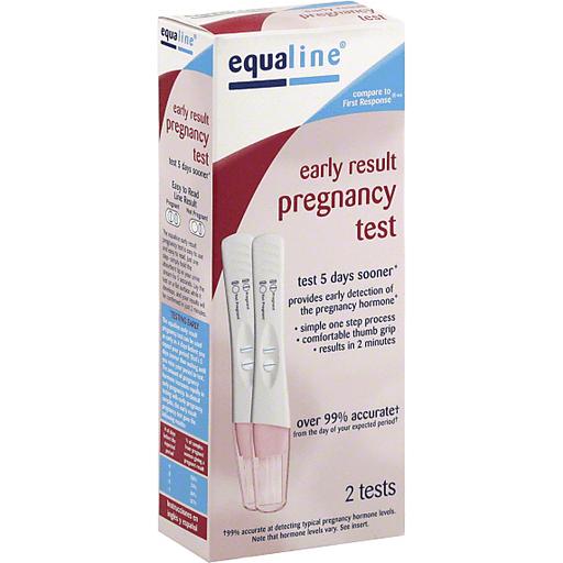 Equaline Pregnancy Test, Early Result