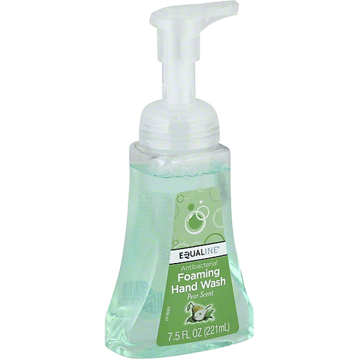 Equaline Hand Wash, Foaming, Pear Scent, Antibacterial