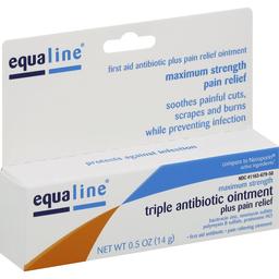 Equaline Antibiotic Ointment Triple Plus Pain Relief Maximum