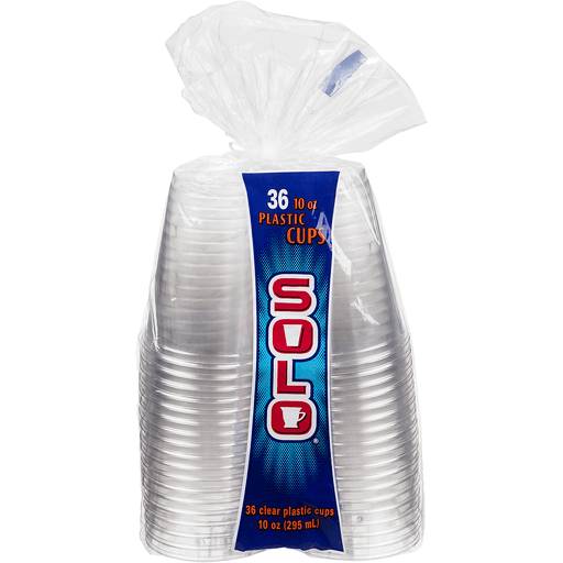 Solo Clear Cups - 36 CT