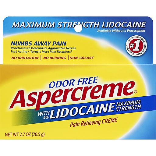 Aspercreme Aspercreme W/Lidocaine