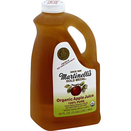 Martinelli S Gold Medal Apple Juice 100 Pure Organic Casey S Foods