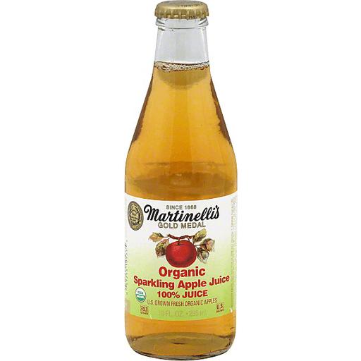 Martinelli S Gold Medal Organic Sparkling Apple 100 Juice 10 Fl Oz Bottle Sparkling Juice Foodtown
