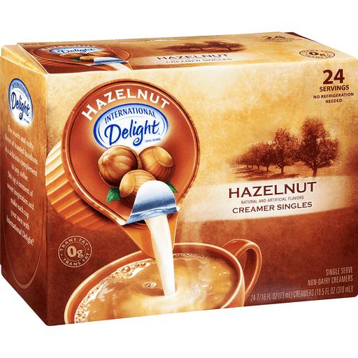 International Delight Creamer Singles, Hazelnut