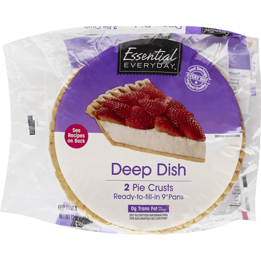 Essential Everyday Pie Crusts, Deep Dish