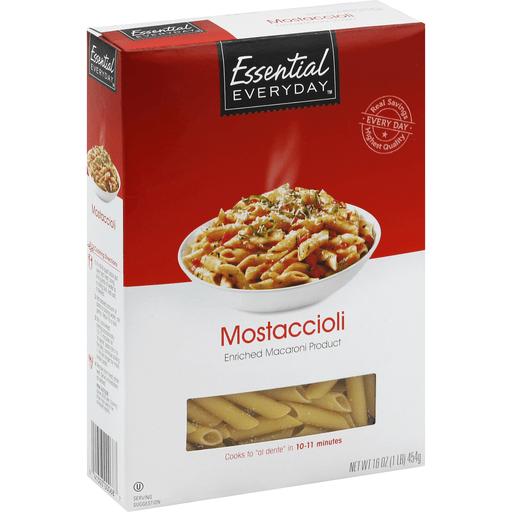 Essential Everyday Mostaccioli