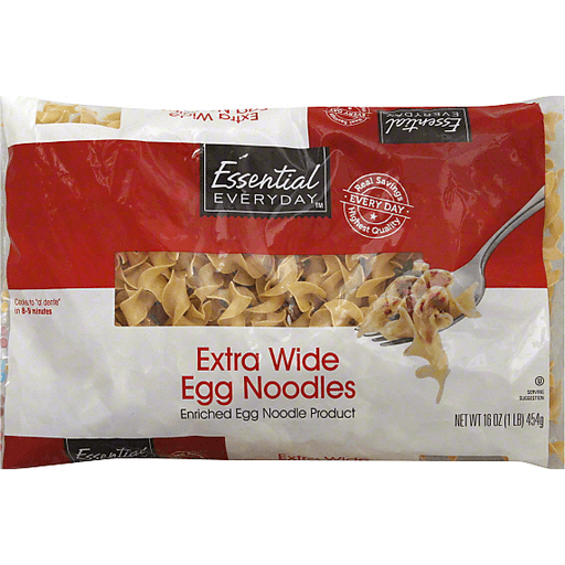 Essential Everyday Egg Noodles, Extra Wide