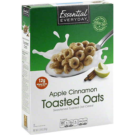 Essential Everyday Cereal, Apple Cinnamon Toasted Oats