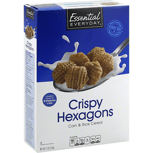 Essential Everyday Cereal, Crispy Hexagons