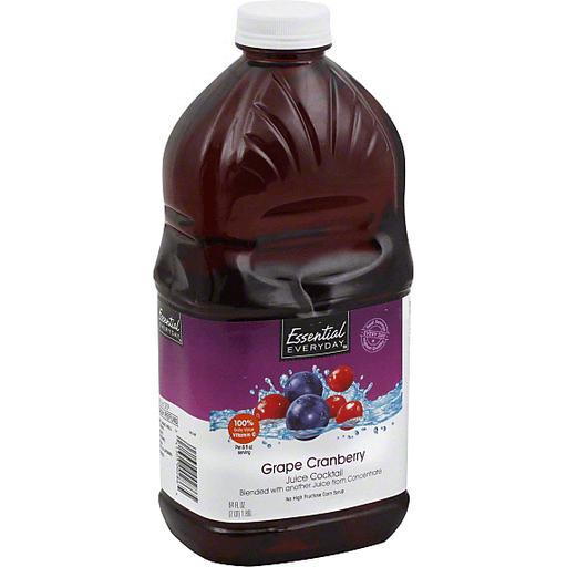 Essential Everyday Juice Cocktail, Grape Cranberry