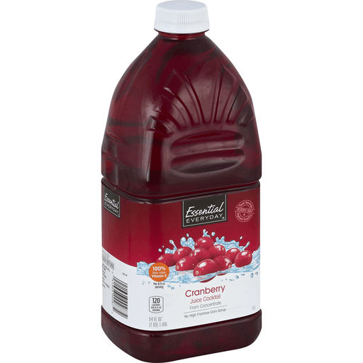 Essential Everyday Juice Cocktail, From Concentrate, Cranberry
