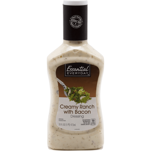 Essential Everyday Dressing, Creamy Ranch with Bacon