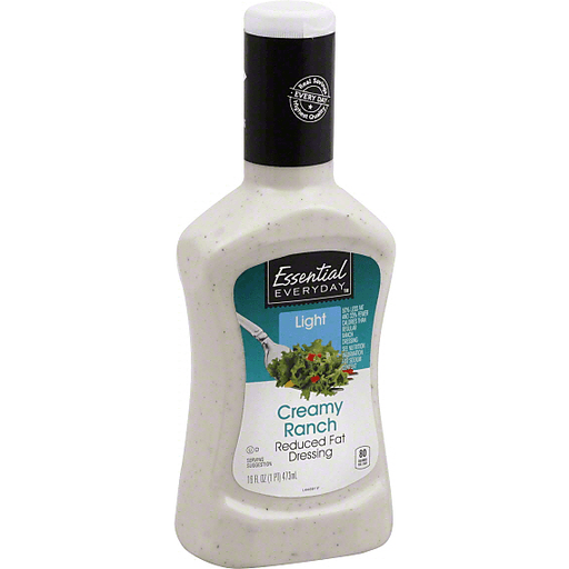 Essential Everyday Dressing, Reduced Fat, Creamy Ranch, Light