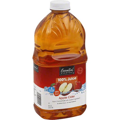 Essential Everyday 100% Juice, Apple Cider