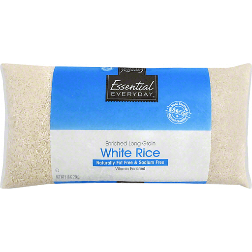 Essential Everyday White Rice, Enriched, Long Grain