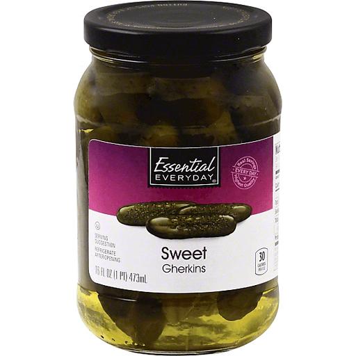 Essential Everyday Gherkins, Sweet