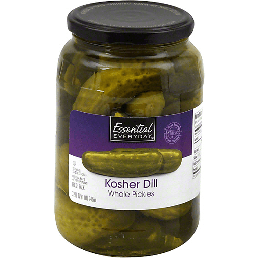 Essential Everyday Pickles, Kosher Dill, Whole