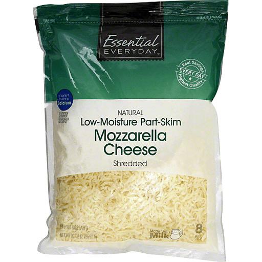 Essential Everyday Shredded Cheese, Low-Moisture Part-Skim Mozzarella