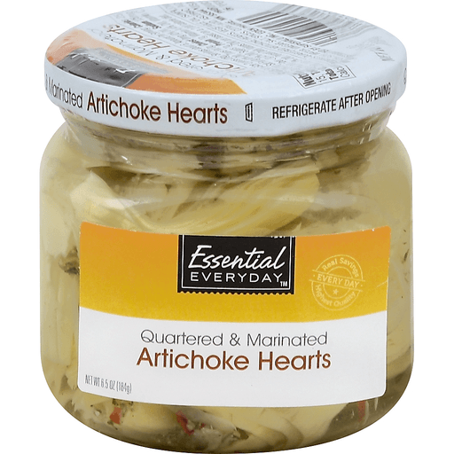 Essential Everyday Artichoke Hearts, Quartered & Marinated
