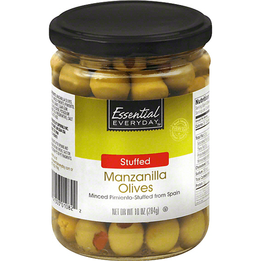 Essential Everyday Olives, Manzanilla, Stuffed