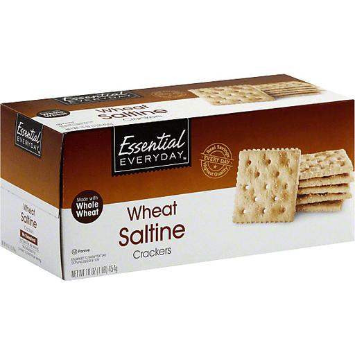 Essential Everyday Crackers, Wheat Saltine