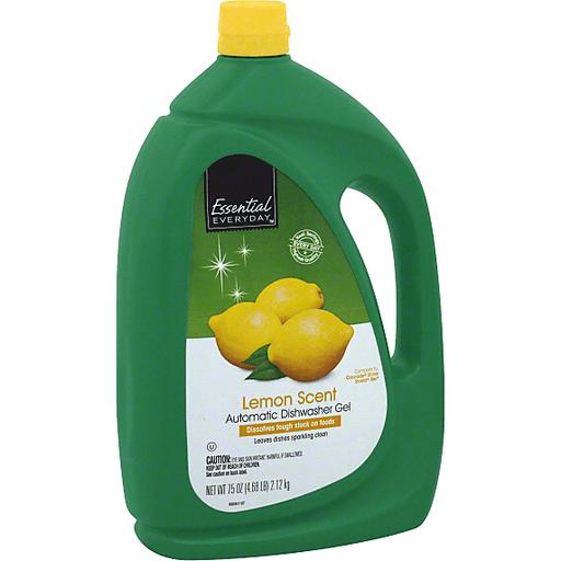 Essential Everyday Dishwasher Gel, Automatic, Lemon Scent