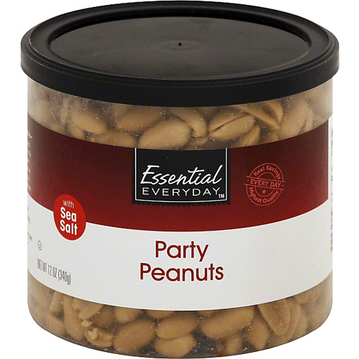 Essential Everyday Peanuts, Party, with Sea Salt