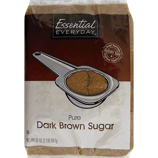 Essential Everyday Sugar, Pure, Dark Brown