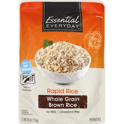Essential Everyday Rapid Rice, Whole Grain Brown
