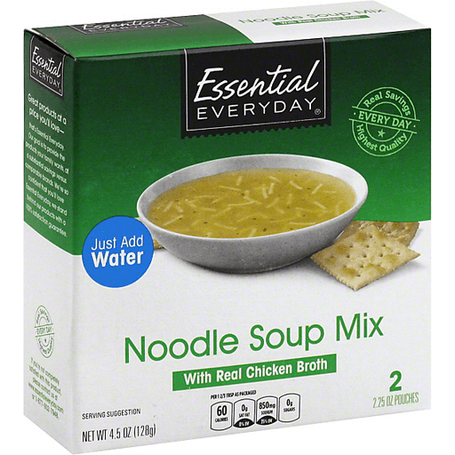 Essential Everyday Noodle Soup Mix, with Real Chicken Broth