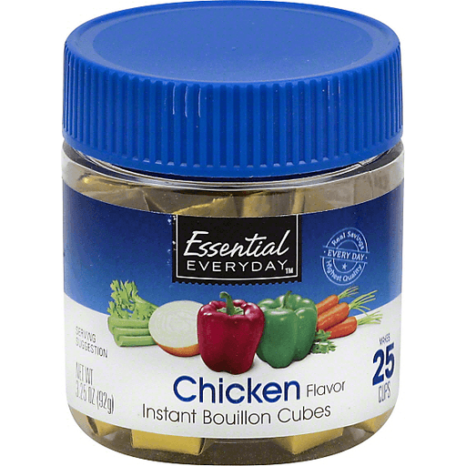 Essential Everyday Bouillon Cubes, Instant, Chicken