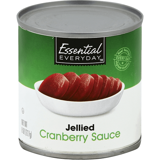 Essential Everyday Cranberry Sauce, Jellied