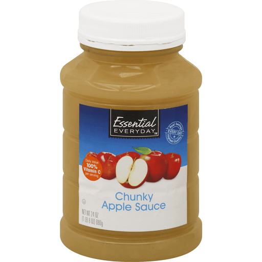 Essential Everyday Apple Sauce, Chunky