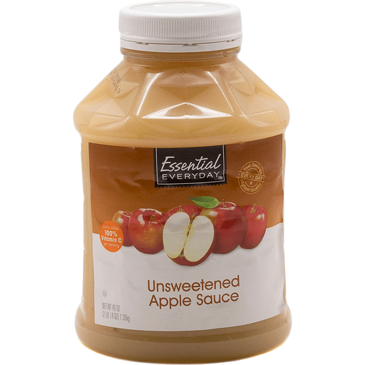 Essential Everyday Apple Sauce, Unsweetened