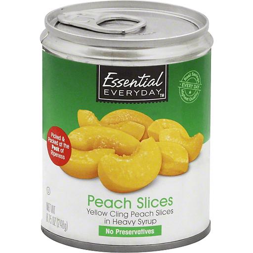Essential Everyday Peach Slices
