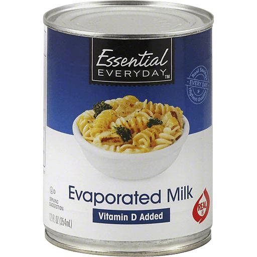 Essential Everyday Milk, Evaporated