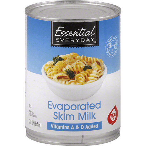 Essential Everyday Milk, Skim, Evaporated