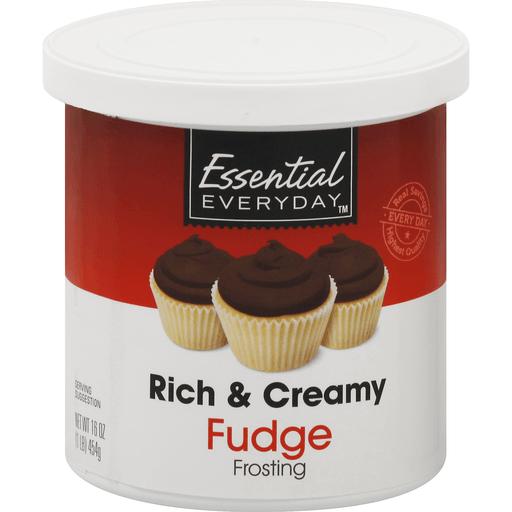 Essential Everyday Frosting, Rich & Creamy, Fudge