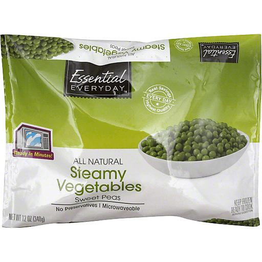 Essential Everyday Steamy Vegetables, Sweet Peas