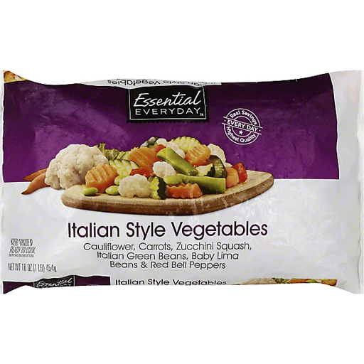 Essential Everyday Italian Style Vegetables