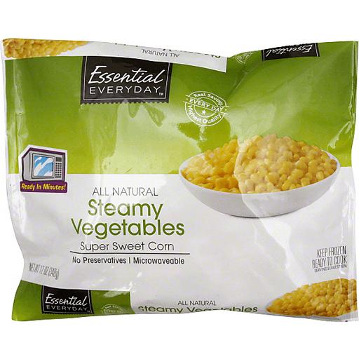 Essential Everyday Steamy Vegetables, Super Sweet Corn